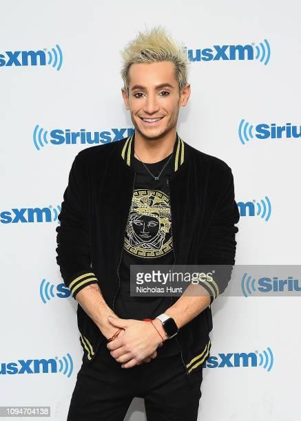 Frankie Grande visits SiriusXM Studios on January 15, 2019 in New York City.