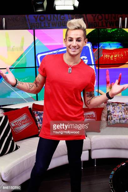 Frankie Grande visits the Young Hollywood Studio on September 12 2017 in Los Angeles California