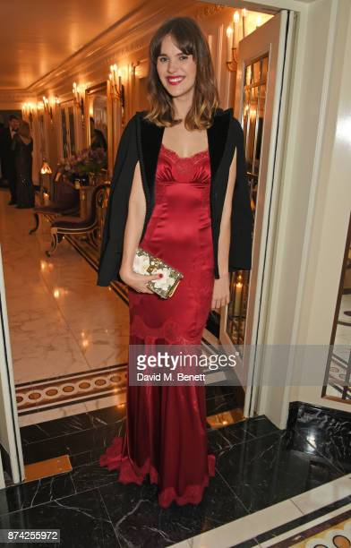 Frankie Herbert attends The Cartier Racing Awards 2017 at The Dorchester on November 14 2017 in London England