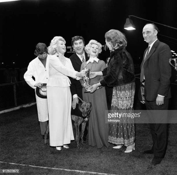 Frankie Howerd, took the two Gabor sisters Eva and Zsa Zsa, out for a different evening's entertainment watching greyhound racing at White City. They...