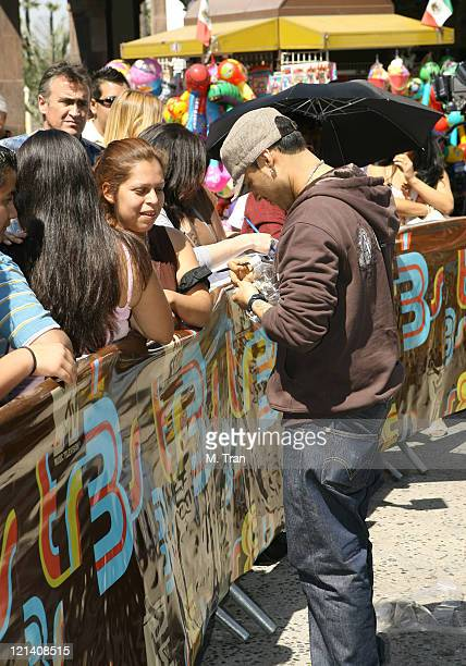 Frankie J during MTV and MTV Tr3s Join Forces to Find the New Menudo Casting Call at Plaza Mexico in Lynwood California United States