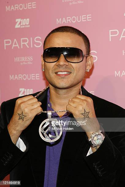 Frankie J during Paris Hilton Record Signing After Party Arrivals at Marquee in Manhattan New York United States