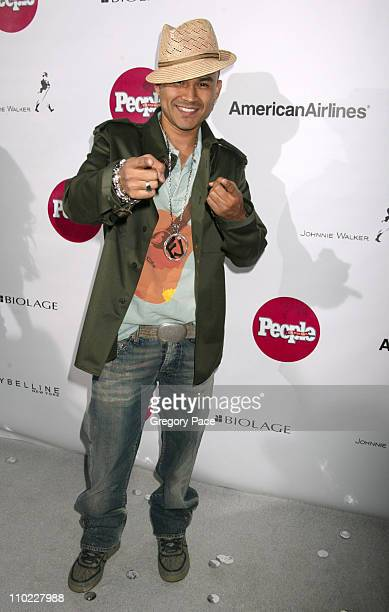 Frankie J during People En Espanol's 4th Annual 50 Most Beautiful Gala White Carpet Arrivals at Capitale in New York City New York United States