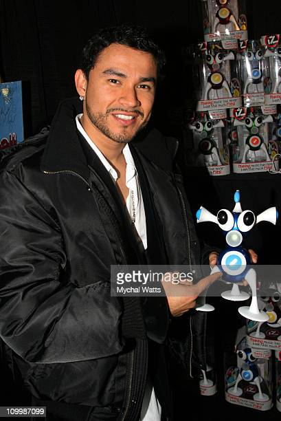 Frankie J during Z100's Jingle Ball 2005 Artist Gift Lounge at Madison Square Garden in New York City New York United States