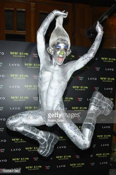 Frankie J Grande attends Heidi Klum's 19th Annual Halloween Party presented by Party City and SVEDKA Vodka at LAVO New York on October 31 2018 in New...
