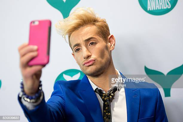 Frankie J Grande attends the 8th Annual Shorty Awards at The New York Times Center on April 11 2016 in New York City