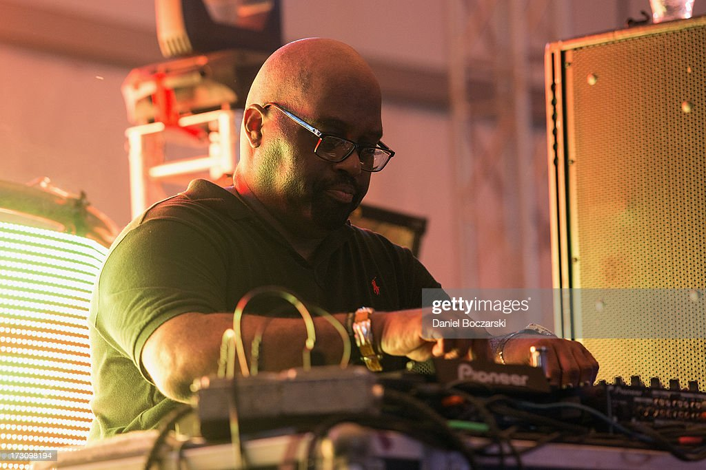 Frankie Knuckles performs during the 2013 Wavefront Music Festival at Montrose Beach on July 6, 2013 in Chicago, Illinois.