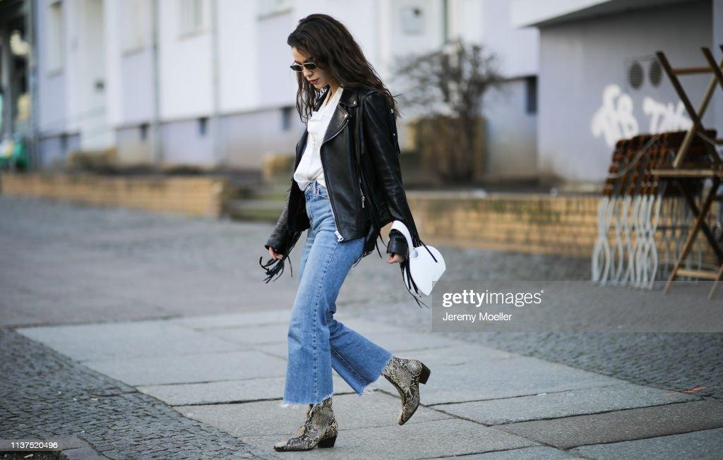 Street Style - Berlin - March 20, 2019 : Photo d'actualité