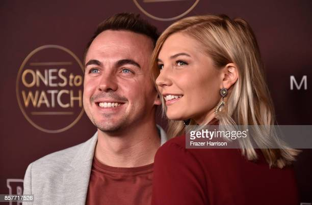 Frankie Muniz and Paige Price attend People's Ones To Watch at NeueHouse Hollywood on October 4 2017 in Los Angeles California