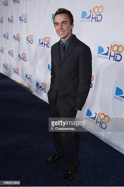 Frankie Muniz at the DIRECTV's 100 HD Emmy Party at the West Hollywood Municipal Park on September 17 2007 in West Hollywood CA
