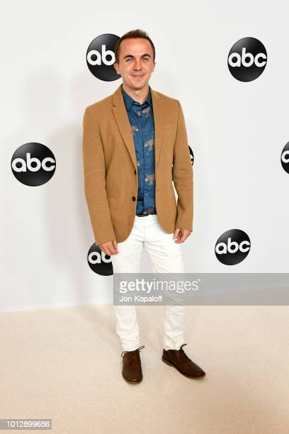 Frankie Muniz attends the Disney ABC Television TCA Summer Press Tour at The Beverly Hilton Hotel on August 7 2018 in Beverly Hills California