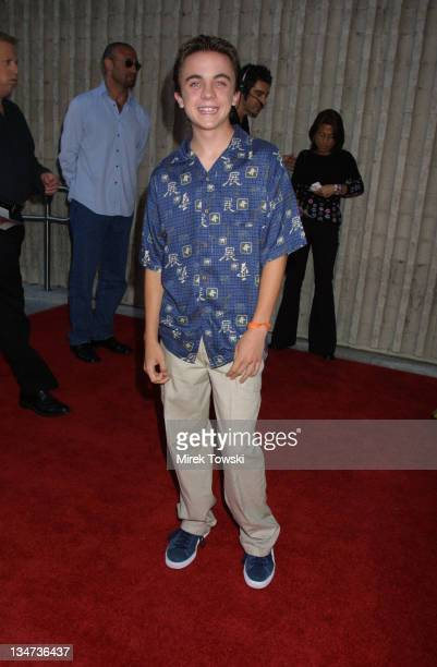 Frankie Muniz during Dr Dolittle 2 Los Angeles Premiere at GCC Avco Cinemas in Los Angeles California United States