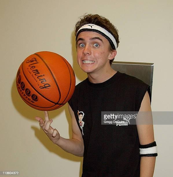Frankie Muniz during Frankie Muniz Hosts 'HoopLA' a Celebrity Basketball Game Which Benefits The Starlight Children's Foundation at Crossroads School...