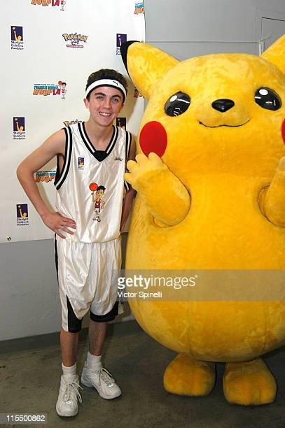 Frankie Muniz during Frankie Muniz hosts HoopLA for Starlight Childrens Foundation at LA Sports Arena in Los Angeles California United States