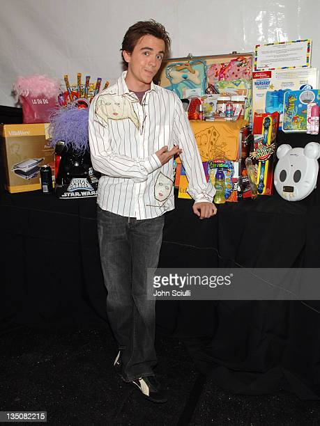 Frankie Muniz during Mattel Celebrity Retreat Presented by Backstage Creations at Kids' Choice Awards '05 Day 2 at UCLA Pauley Pavilion in Westwood...
