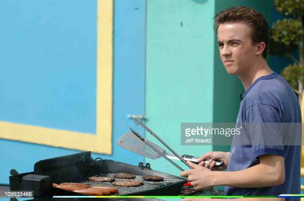 Frankie Muniz during Nickelodeon Celebrates Lets Just Play Campaign at Nickelodeon Studios On Sunset in Hollywood CA United States