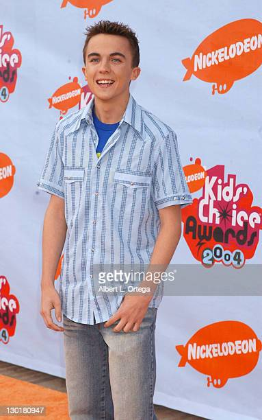 Frankie Muniz during Nickelodeon's 17th Annual Kids' Choice Awards Arrivals at Pauley Pavillion in Westwood California United States