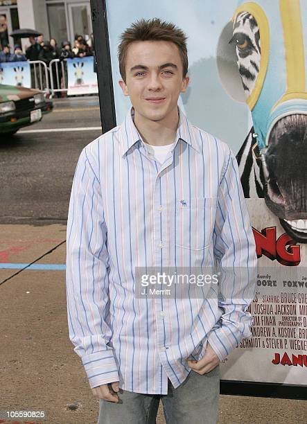 Frankie Muniz during Racing Stripes World Premiere Arrivals at Grauman's Chinese Theater in Hollywood California United States
