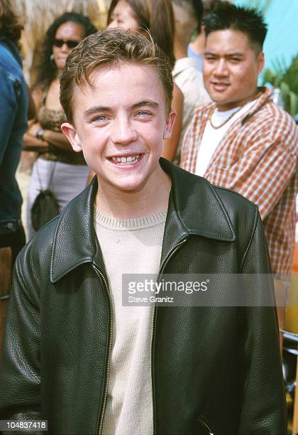 Frankie Muniz during The 2000 Teen Choice Awards at Barker Hanger in Santa Monica California United States