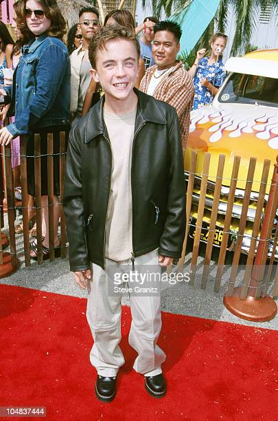 Frankie Muniz during The 2000 Teen Choice Awards at Barker Hanger in Santa Monica California United States