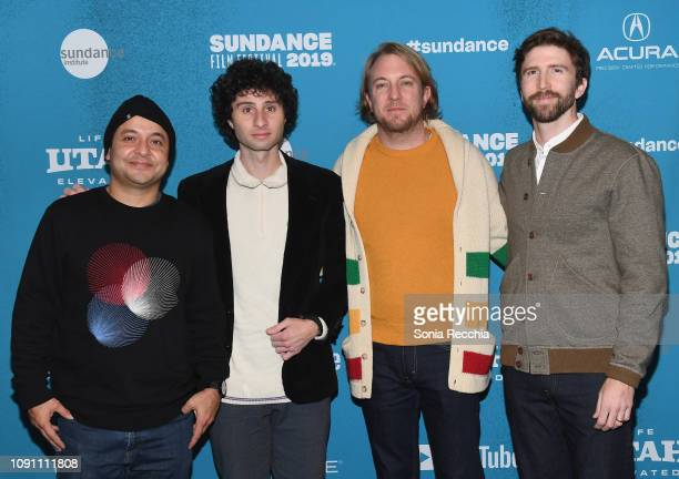 Frankie Quinones Donny Divanian Cory Loykasek and Robb Bordman attend the Indie Episodic Program 2 during the 2019 Sundance Film Festival at...