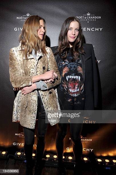 Frankie Rayder and Liv Tyler arrive at the Givenchy AfterShow Party At l'Arc as part of Paris Fashion Week Autumn/Winter 2011/2012 L'Arc on March 6...