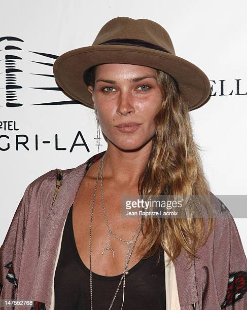 Frankie Rayder attends the launch of Russell James' Photographic Art Book at Hotel ShangriLa on June 18 2009 in Santa Monica California