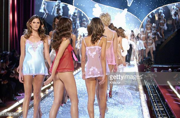 Frankie Rayder during 9th Annual Victoria's Secret Fashion Show Runway at The New York State Armory in New York City New York United States