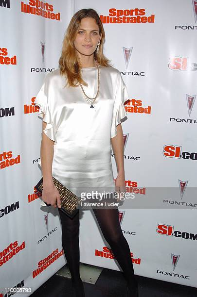Frankie Rayder during Sports Illustrated 2005 Swimsuit Issue Press Conference at AER Lounge in New York City New York United States