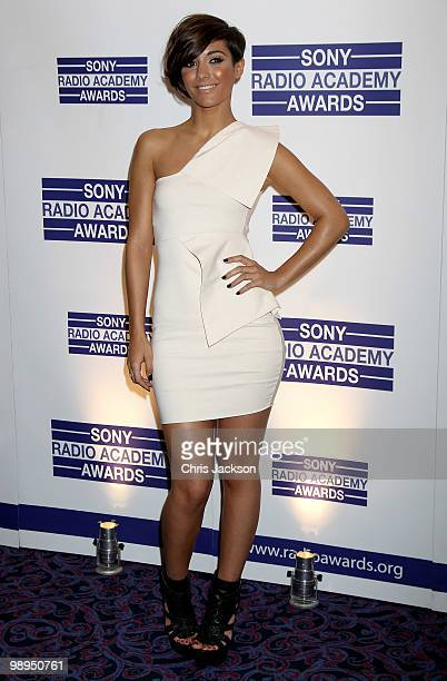 Frankie Sandford of girlband 'The Saturdays' attends the Sony Radio Academy Awards at The Grosvenor House Hotel on May 10 2010 in London England