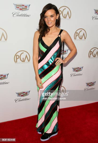 Frankie Shaw attends the 29th Annual Producers Guild Awards at The Beverly Hilton Hotel on January 20 2018 in Beverly Hills California
