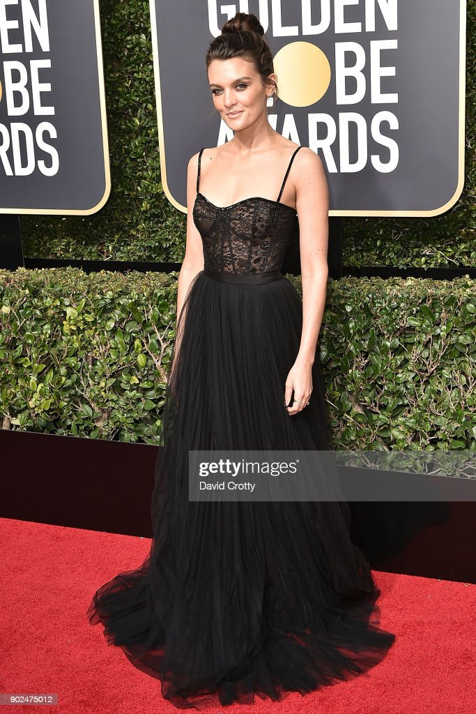 Frankie Shaw attends the 75th Annual Golden Globe Awards - Arrivals at The Beverly Hilton Hotel on January 7, 2018 in Beverly Hills, California.