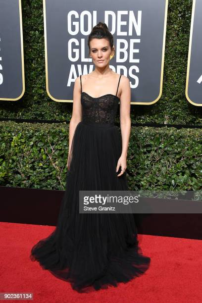 Frankie Shaw attends The 75th Annual Golden Globe Awards at The Beverly Hilton Hotel on January 7 2018 in Beverly Hills California