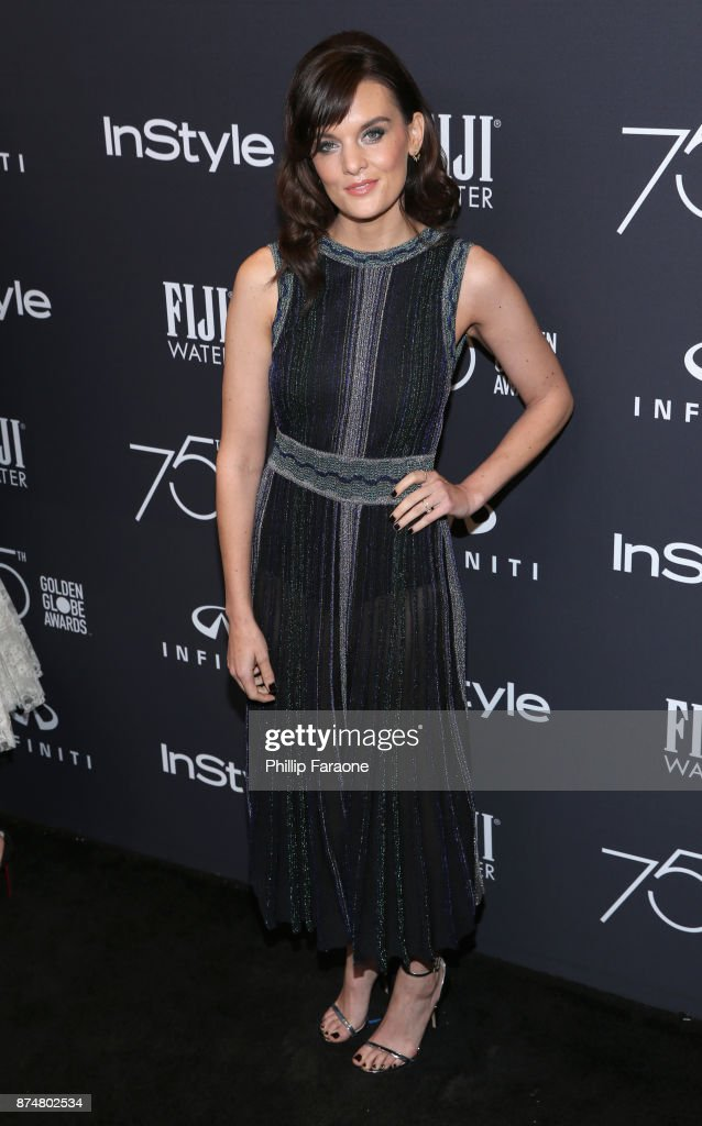 Frankie Shaw attends the HFPA's and InStyle's Celebration of the 2018 Golden Globe Awards Season and the Unveiling of the Golden Globe Ambassador at Catch on November 15, 2017 in West Hollywood, California.