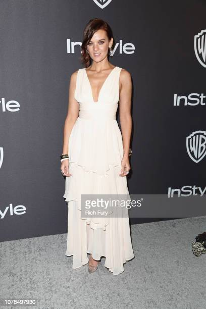Frankie Shaw attends the InStyle And Warner Bros Golden Globes After Party 2019 at The Beverly Hilton Hotel on January 6 2019 in Beverly Hills...