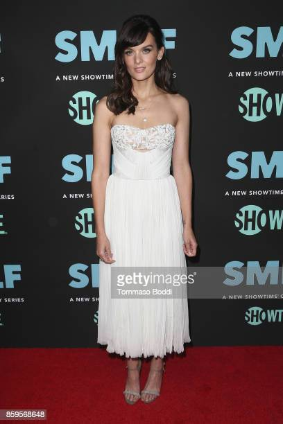 Frankie Shaw attends the Premiere Of Showtime's SMILF held at Harmony Gold Theater on October 9 2017 in Los Angeles California