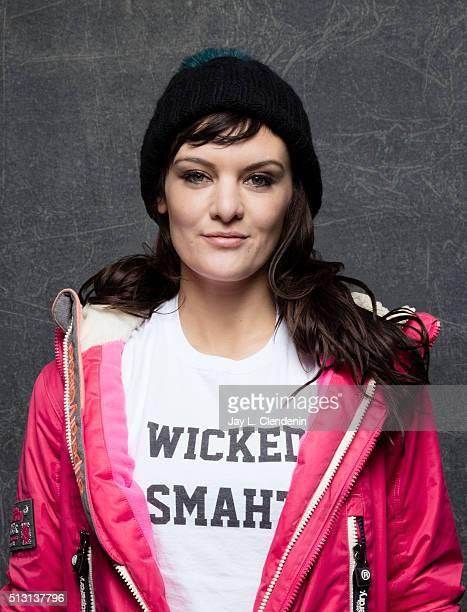 Frankie Shaw director/writer for 'Too Legit' poses for a portrait at the 2016 Sundance Film Festival on January 25 2016 in Park City Utah CREDIT MUST...