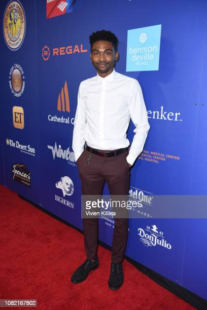Frankie Smith attends the Closing Night Screening of 'Ladies In Black' at the 30th Annual Palm Springs International Film Festival on January 13 2019...
