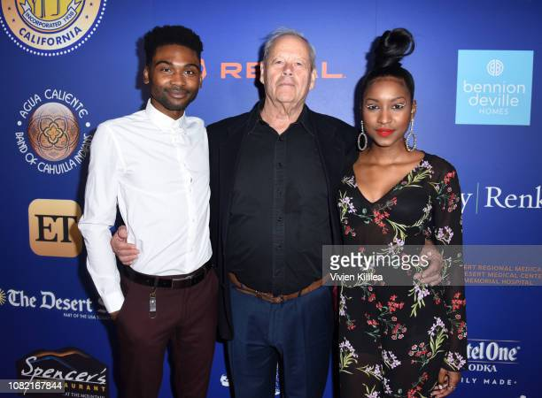 Frankie Smith Bruce Beresford and Carlacia Grant attend the Closing Night Screening of 'Ladies In Black' at the 30th Annual Palm Springs...