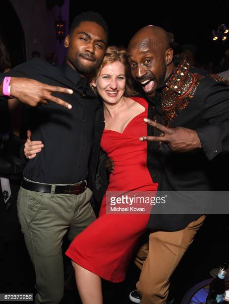 Frankie Smith Samantha Hoefer and Rob Morgan attend the screening of Netflix's 'Mudbound' at the Opening Night Gala of AFI FEST 2017 Presented By...