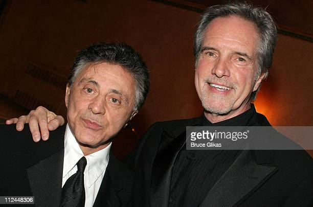 Frankie Valli and Bob Gaudio of The Four Seasons
