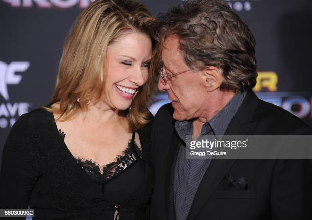 Frankie Valli and guest arrive at the premiere of Disney and Marvel's 'Thor Ragnarok' at the El Capitan Theatre on October 10 2017 in Los Angeles...