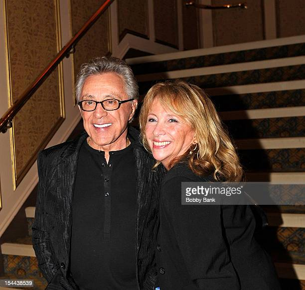 Frankie Valli and his daughter Toni Valli attends Frankie Valli And The Four Seasons 50th Anniversary Celebration at Broadway Theatre on October 19...