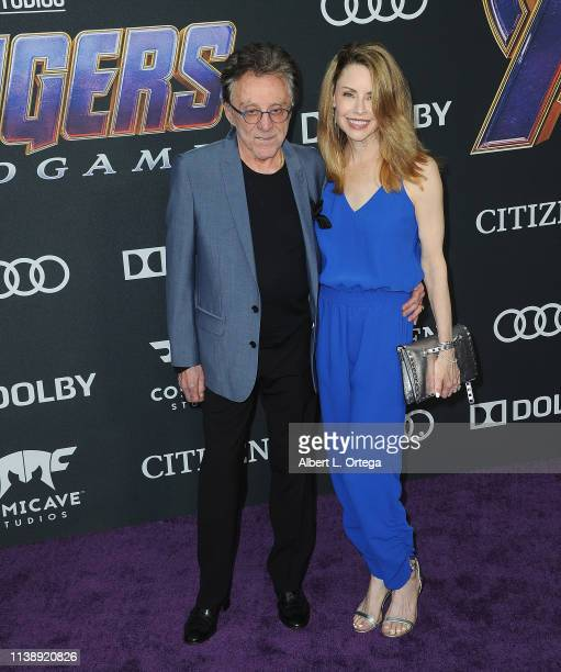 Frankie Valli and Jackie Jacobs arrive for the World Premiere Of Walt Disney Studios Motion Pictures Avengers Endgame held at Los Angeles Convention...