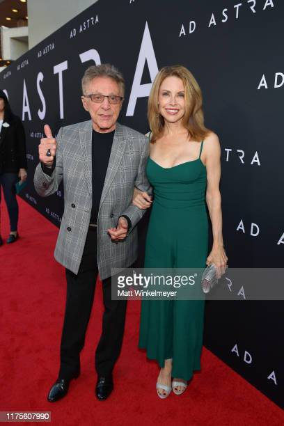 """Frankie Valli and Jackie Jacobs attends the premiere of 20th Century Fox's """"Ad Astra"""" at The Cinerama Dome on September 18, 2019 in Los Angeles,..."""