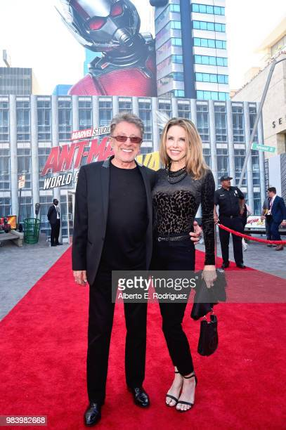 Frankie Valli and Jacqueline Jacobs attend the Los Angeles Global Premiere for Marvel Studios' AntMan And The Wasp at the El Capitan Theatre on June...
