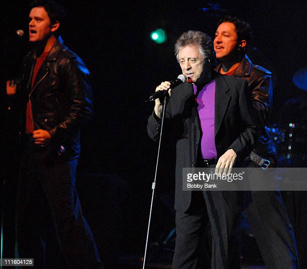 Frankie Valli and The Four Seasons during Frankie Valli and The Four Seasons Headline at Count Basie Theatre May 9 2007 at Count Basie Theatre in Red...