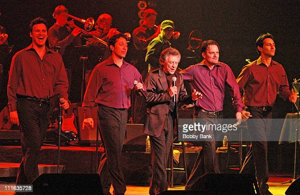 Frankie Valli and The Four Seasons during Frankie Valli in Concert at the State Theatre in New Brunswick - March 7, 2007 at State Theatre in New...