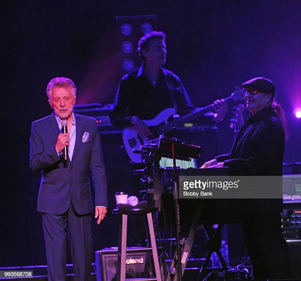 Frankie Valli and The Four Seasons In Concert at Ford Amphitheater at Coney Island Boardwalk on July 7 2018 in Brooklyn New York