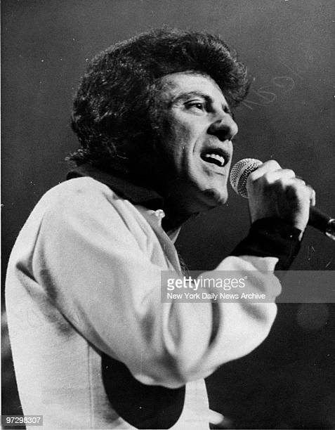 Frankie Valli and the Four Seasons performing at Madison Square Garden